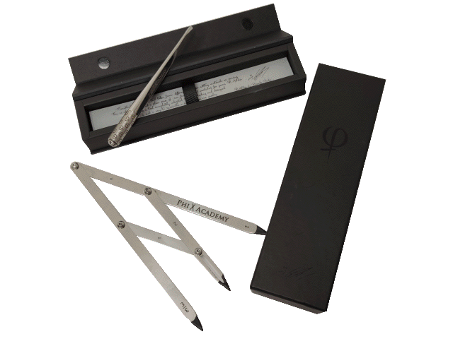 PhiBrows microblading compass