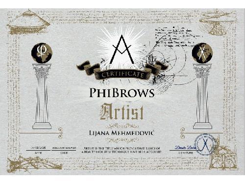 PhiBrows microblading sertifikat